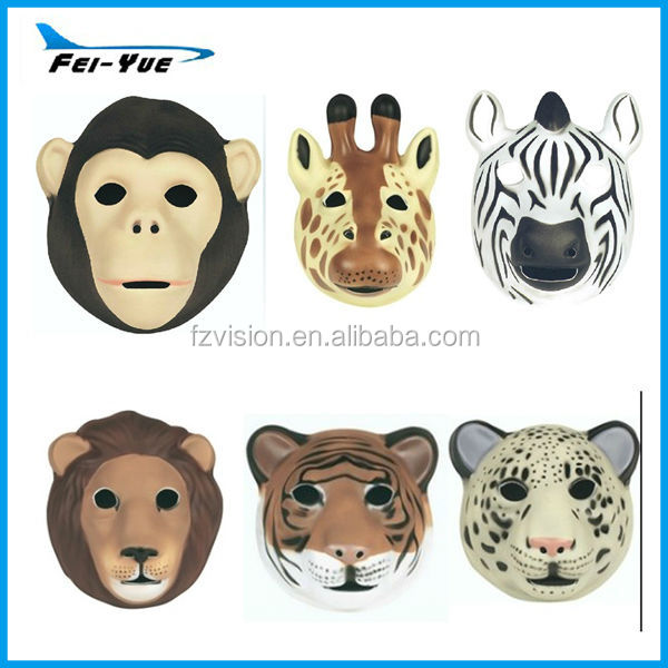 Halloween EVA foam animal mask Sarafi Wild Animal Lion Tiger Mask