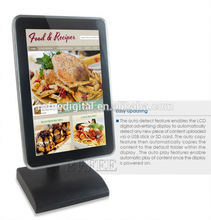 samll size android table stand photo booth kiosk