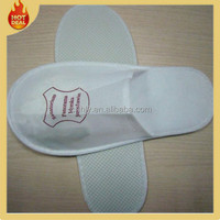 Washable hotel indoor diaposable house guest slippers