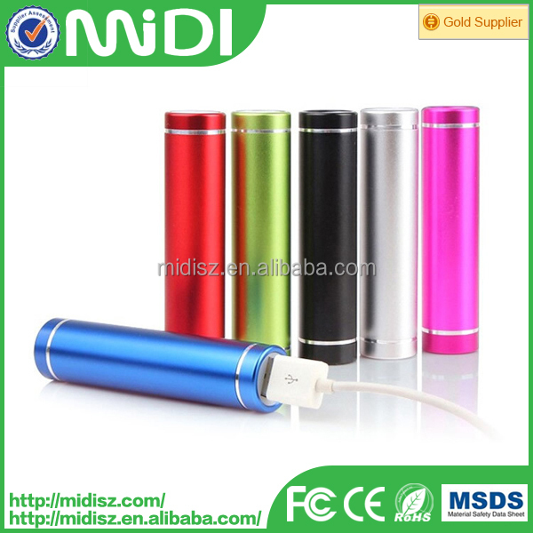 External Portable 2600mAh USB Charger Power Bank Battery For iPhone 6