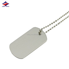 aluminium and craft custom logo metal dog tag