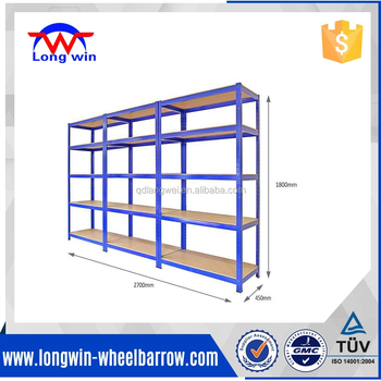 Industrial 5 tier storage metal shelf garage warehouse metal shelf