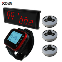 Paging Service System Most Popular Fashion Wireless Restaurant Call Calling Waiter Server - Table Calling Button