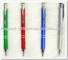 anodized aluminum promotional metal ball pen