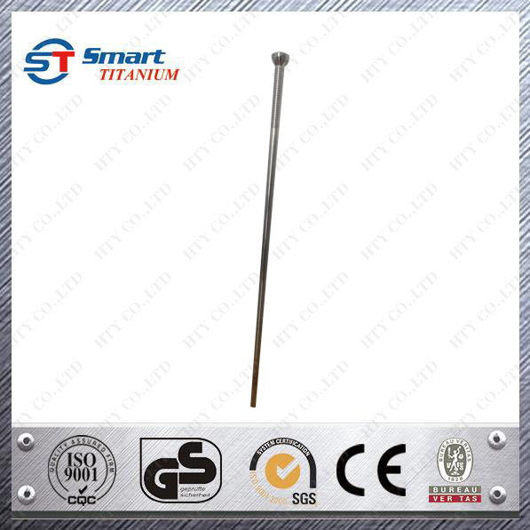 HTY Customized Titanium GR5 Solid Walking Cane