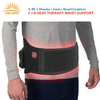 Rehabilitation Therapy Supplies adjustable back support belts lower back heating pad