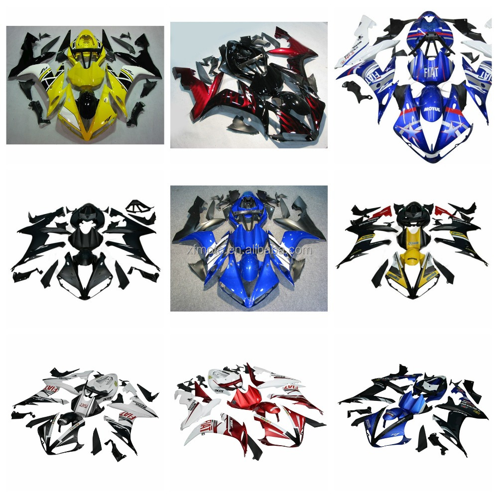 Plastic Fairing Kit Fit For YAMAHA YZF R1 2004-2006 05