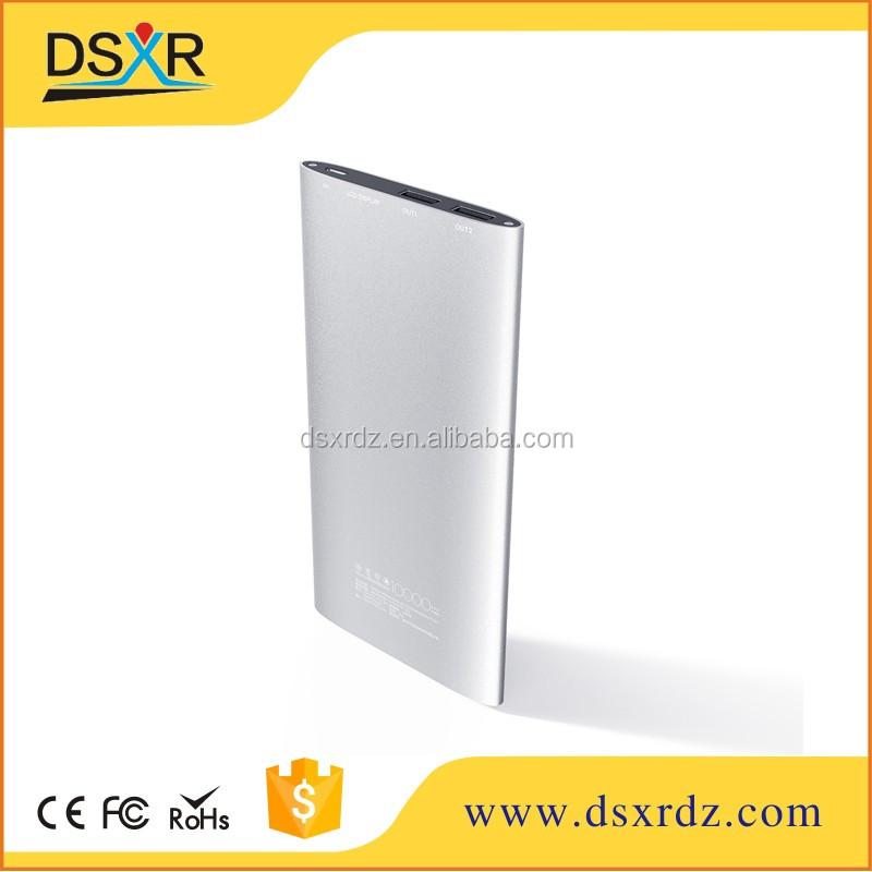 portable vinsic 20000mah ultra slim power bank for xiaomi