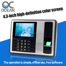Employee Time Clock System Fingerprint Attendance Time Keeping Machine Save Cost for Employer
