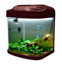 best-selling fivestar mini small coffee table aquarium with LED light