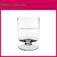 Factory wholesale Clear cheap tall mercury glass vase_cheap glass flower terrariums vases__Glass terrariums for flowers