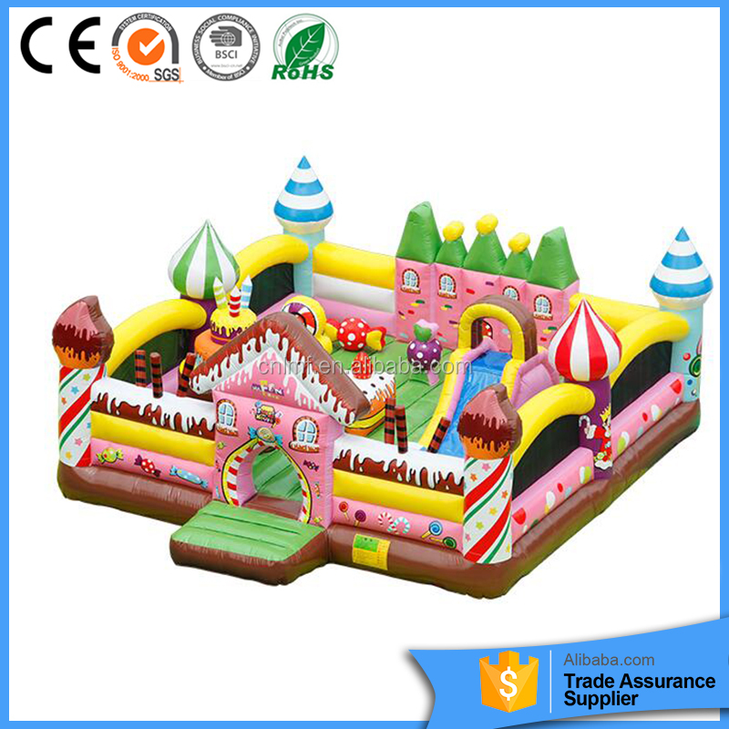 Chinese manufacturer children's outside play area flooring indoor playground