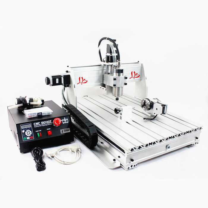 New model ! endurable cnc router 6040Z-S 80 with the Spindle speed of 1000-24000RPM/MIN