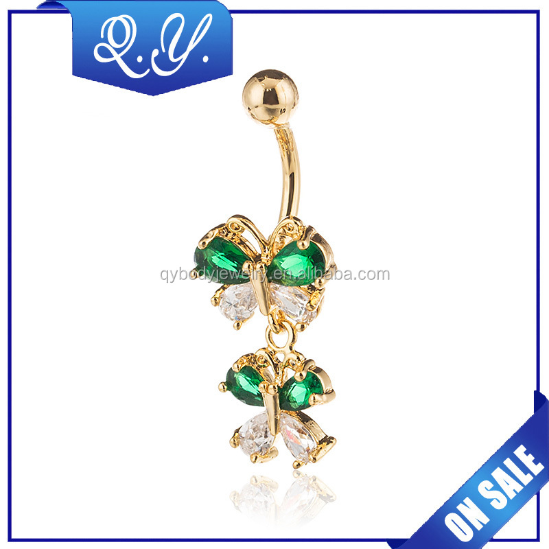 Butterfly Jewelry Navel Ring 2015 Guangzhou Bulk Supply