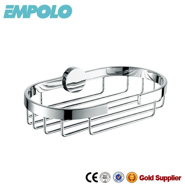 Good Quality Brass Chrome Soap Dish Basket,Bathroom Accessories Shower Caddy 931 06B.jpg