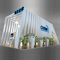 Detian Offer Modular Aluminum Frame Texitle Graphics Custom Exhibition Stand