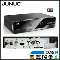 JUNUO OEM free to air strong signal reception HD mstar 7t01 Poland digital set top box receiver for digital tv