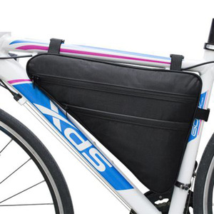 Customized Large Capacity Front Tube Waterproof Nylon Travel Bike Bag