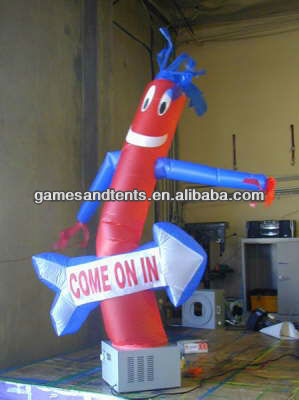 hot mini inflatable air dancer on sale F3006