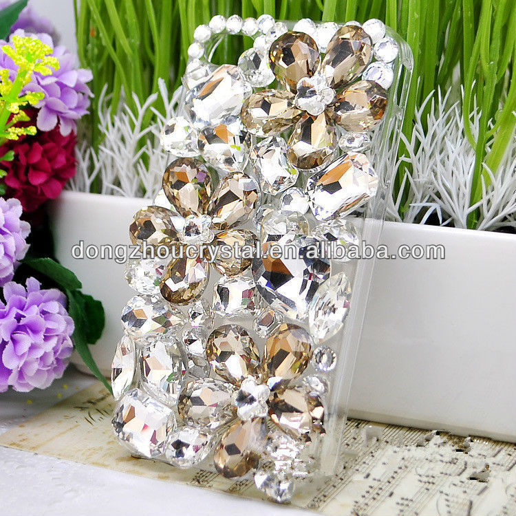 fashion design crystal beads for jewellry and phone accessories