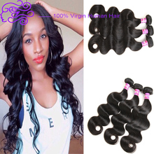 High Quality 100% Human Peruvian Hair Weave Double Weft Wholesale Virgin Peruvian Body Wave Hair