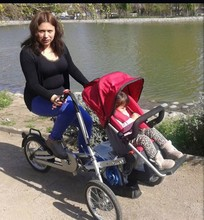 Mother And Quality Baby Bike With Car Seat Stroller Child Tricycle