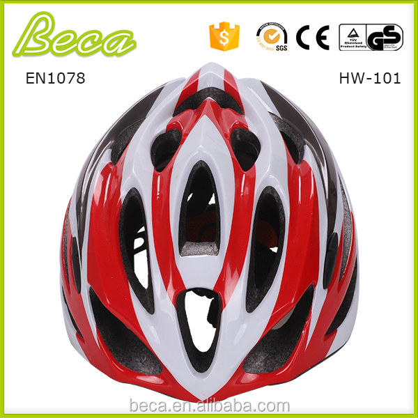 Multi size pc in mold CE EN1078 fashion lady color helmet for adult bike