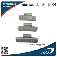 Car tire used lead clip on wheel balance weight