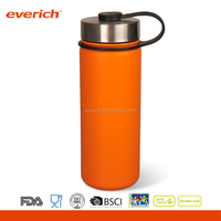 Everich new design 18oz hydro water flask metal cap vacuum insulated stainless steel bottle