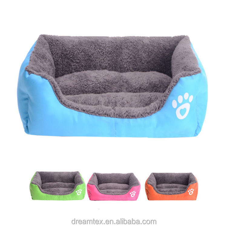 Wholesale plush pet bed dog bed pet house