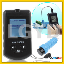 Portable Dot Matrix Sonar Fish Finder