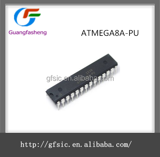 (hot offer) Original and New Programmable Flash Chips IC with ATMEGA8A-PU
