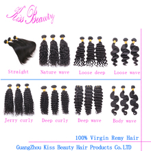 Factory supply 100 percent indian remy human hair from china