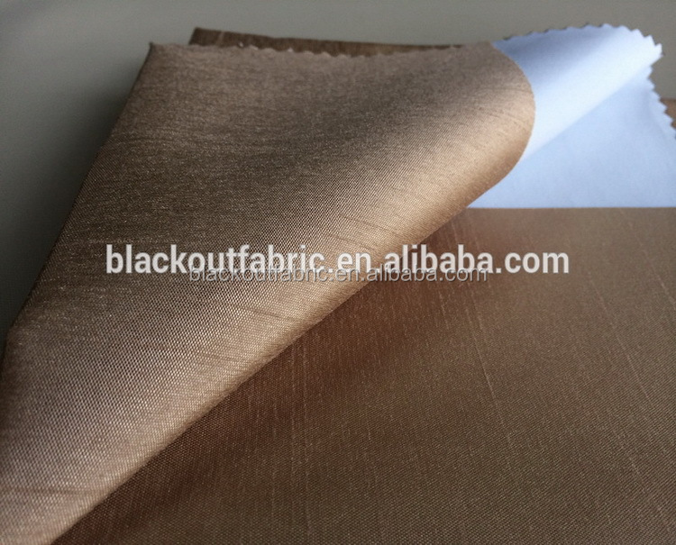 Waterproof Coating Sunscreen Curtain Fabric for Home Textile