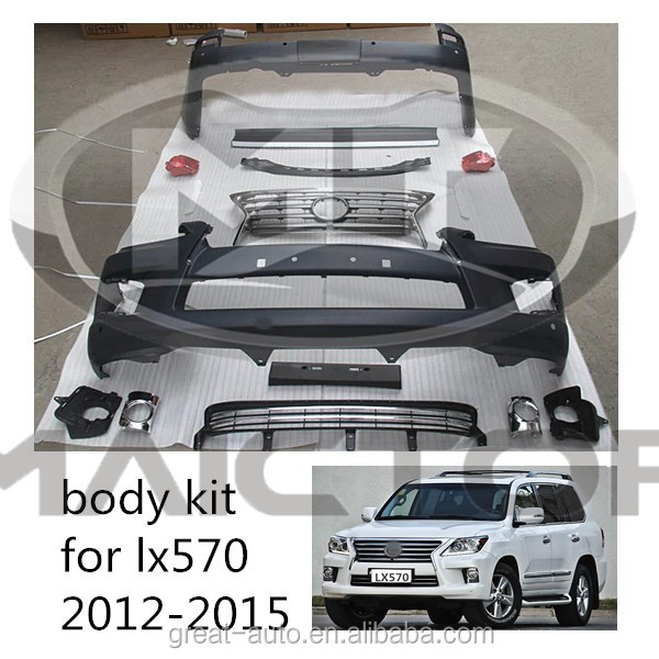 High Quality Body Kit front bumper grille for Lexus LX570