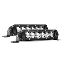 Led Light Bar Super Slim 30W Spot Driving Fog Light Single Row Off Road led Lights for Jeep 2 Style Mounting Brackets