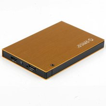 2.5 '' SATA HDD/SSD Exteranl Enclosure colorful aluminum hdd case