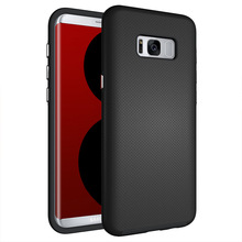 Football pattern customized logo smart phone case tpu pc hybrid armor case cover For Samsung Galaxy S8+ s8 plus case