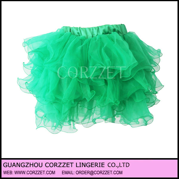 2013 New green Sexy Corset Tutu Dress For Women