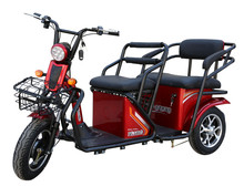 auto rickshaw engines electric pedicab/trike with 800W motor