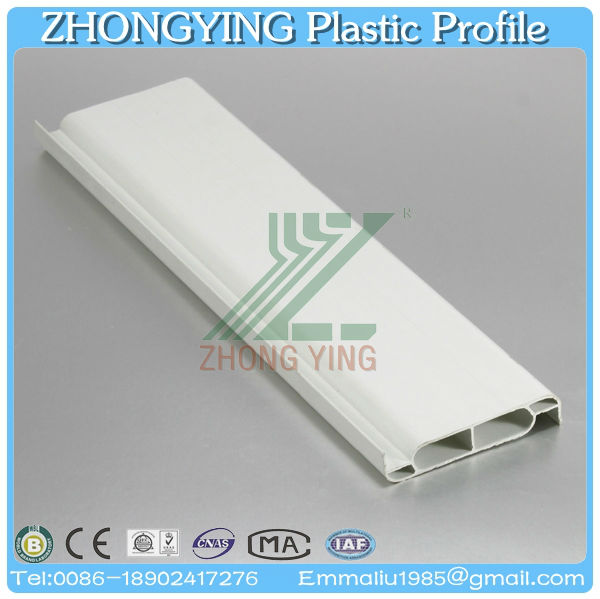 Enviornment protection white pvc plantation shutter components