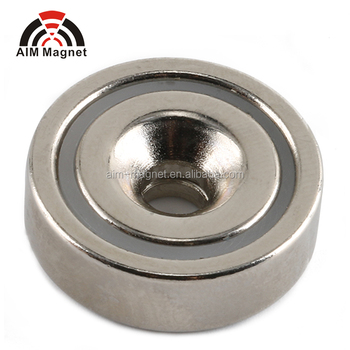 Super Strong Neodymium Cup Magnets Customized size
