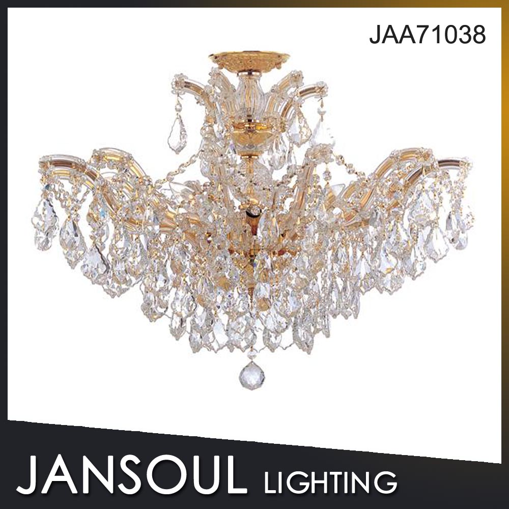 Hot selling italian classic style k9 crystal chandelier light