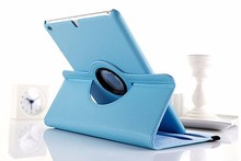 Best Selling 360 Rotating Leather flip stand card holder Handle smart case for ipad345pro 9.7 inch