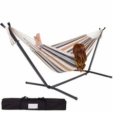 2018 Amazon Best Selling Outdoor Camping Portable Folding Hammock With Frame Stand And Carrying Bag