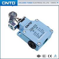 CNTD Factory supply 10A/250VAC Roller Lever Type Electric Limit Switches CSA-012