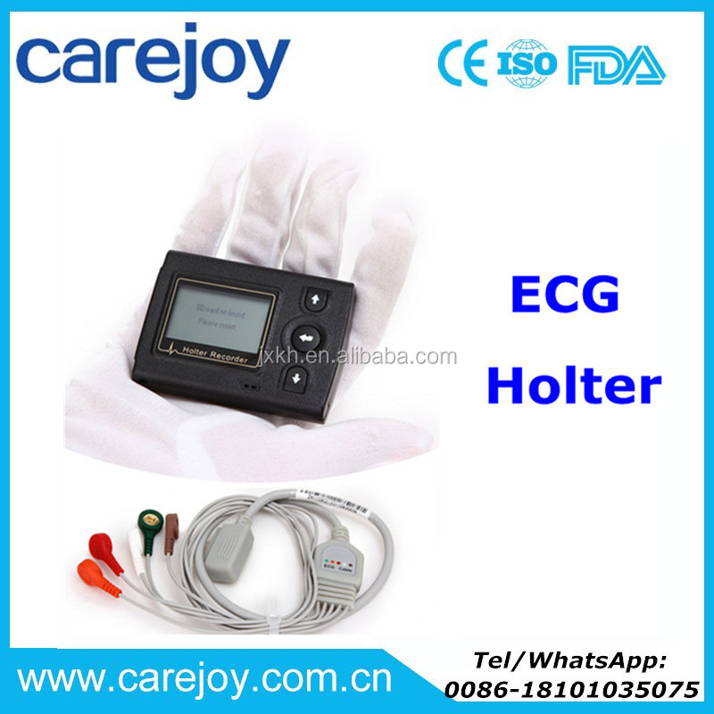 CE certified ECG Holter monitor recorder System Holter Analysis Software cardiac compatible Del Mar DMS CardioScan Century 3000