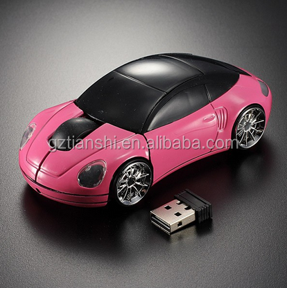 cool youth dream race car model wirelss mouse 3 D