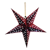 3D Hanging Paper Christmas Star