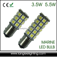 9-32V 3.5W 5.5W BAY15d BA15d BA15s Marine Lamp Navigation Signal Replacement Lantern Ship LED Light Bulb
